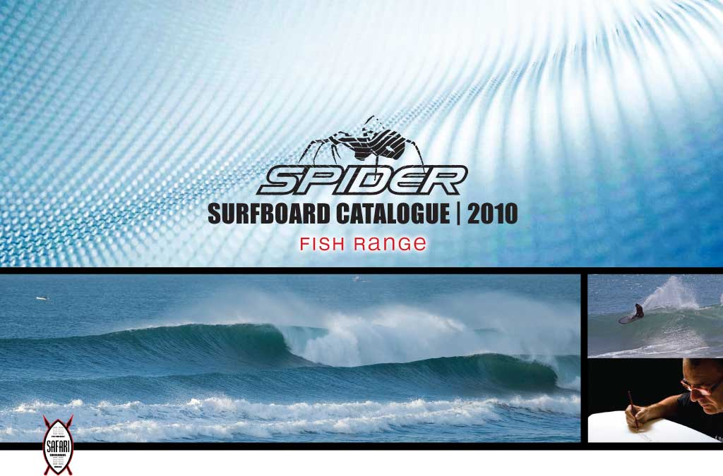 Spider Surfboards Fish Range