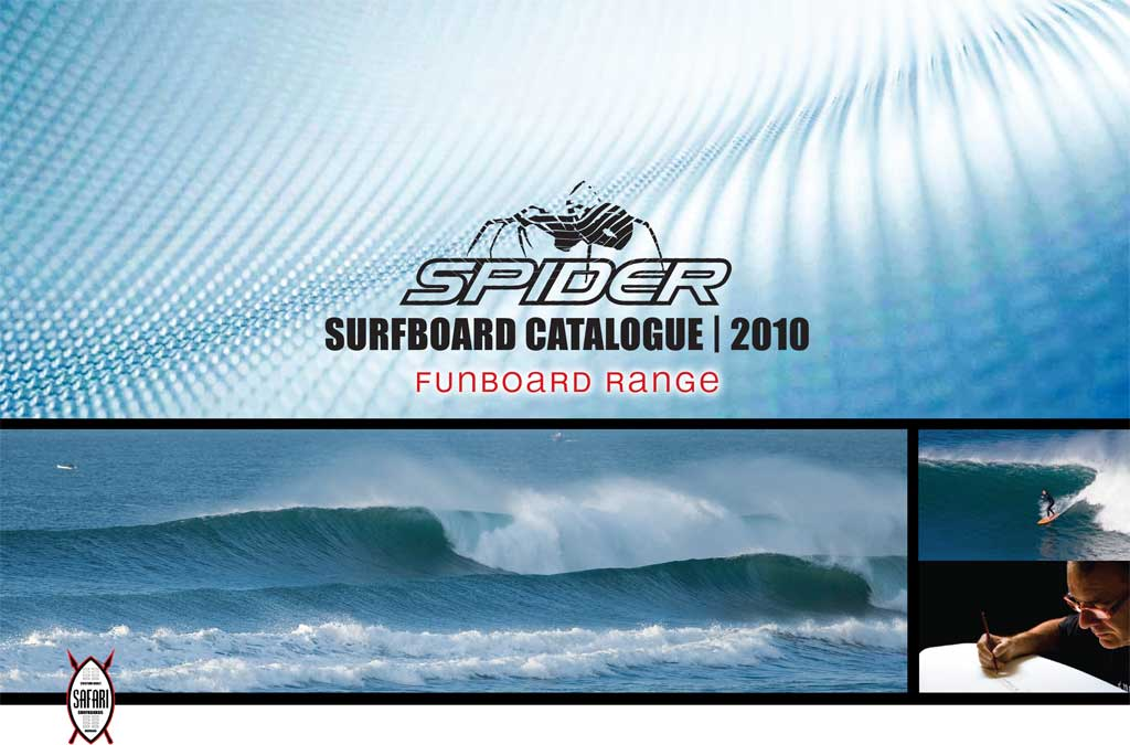Spider Funboard Surfboards
