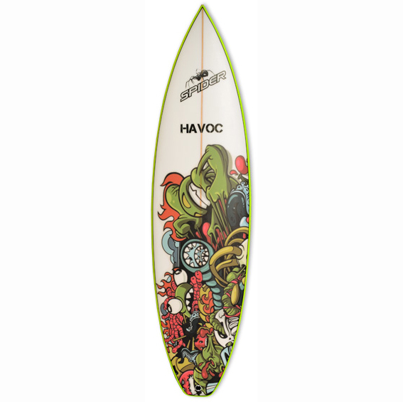 Spider Havoc - Spider Surfboards