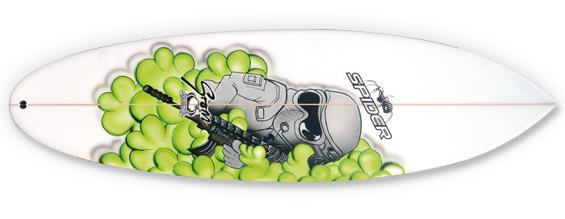 SPRIDER GROM BOMB SURFBOARD